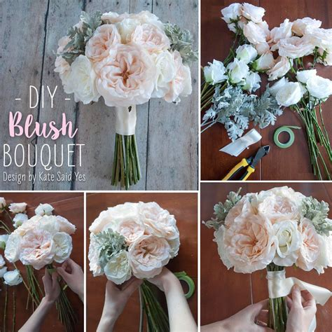 follow  simple diy     wedding bouquets