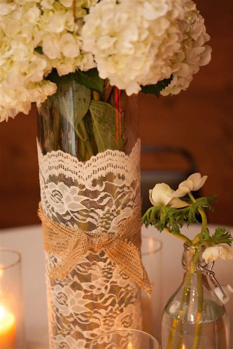 a fast and low cost centerpiece take dollar store vases