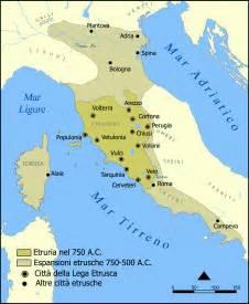 Etruscan Civilization Map