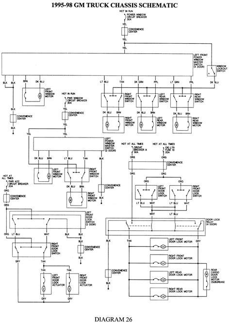 Silverado Stereo Wiring Diagram by 1994 Techteazer