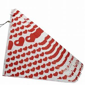 Spitztüten Für Süßigkeiten : 100 rote spitzt ten 125gr papier t ten f r gebrannte mandeln bonbons n sse neu ebay ~ Eleganceandgraceweddings.com Haus und Dekorationen