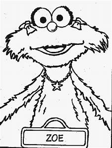 Sesame Street Rosita Coloring Pages Coloring Pages