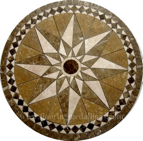 36 floor tile marble medallion 2016