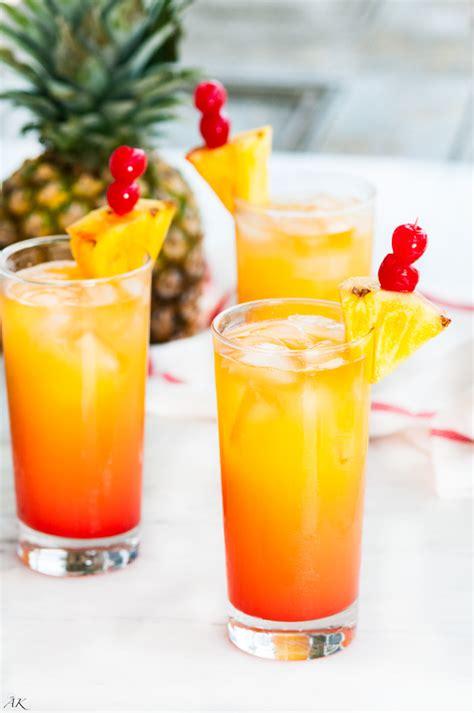 Tropical Mai Tai Cocktail  Aberdeen's Kitchen