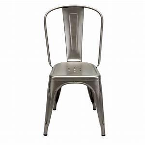 Chaise Metal Tolix : chaise style tolix ~ Teatrodelosmanantiales.com Idées de Décoration
