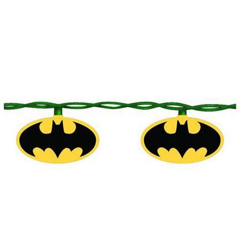 batman bat signal 10 light christmas tree set merchandise