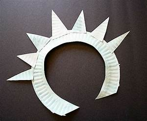 Crafts For Kids Make A Statue Of Liberty Crown And Torch