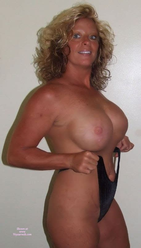 Curly Blonde Hair And Big Boobs September Voyeur Web Hall Of Fame