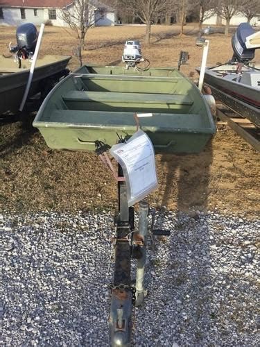 Cabelas Dundee Used Boats by Used Alumacraft Jon Boats For Sale Boats