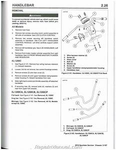 2016 Harley Davidson Sportster Motorcycle Service Manual