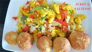HOW TO MAKE ACKEE AND SALT FISH ( JAMAICA'S NATIONAL DISH ...