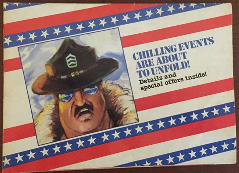 forgotten figures 1987 sgt slaughter chilling events