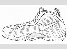 Foamposite Free Coloring Pages