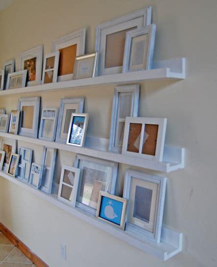 gallery ledge shelves diy ledges simply organized