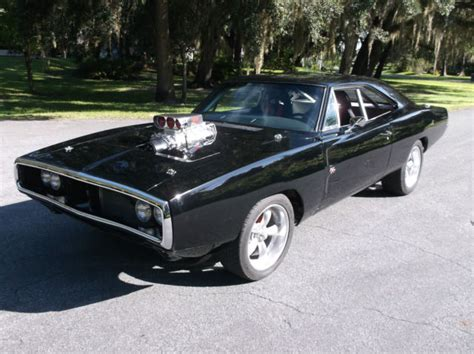 1970 Dodge Charger Fast And Furious Movie Stunt Prop Car