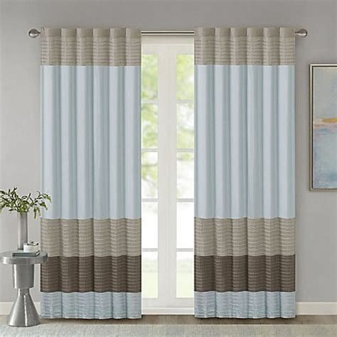 bed bath and beyond blinds park amherst window curtain panel and valance