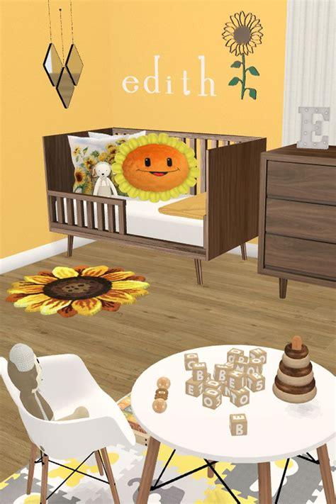 nursery sunflower designwithfriends