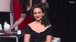 Coiffure Année 50 Pin Up : comment se faire une coiffure de pin up youtube ~ Melissatoandfro.com Idées de Décoration