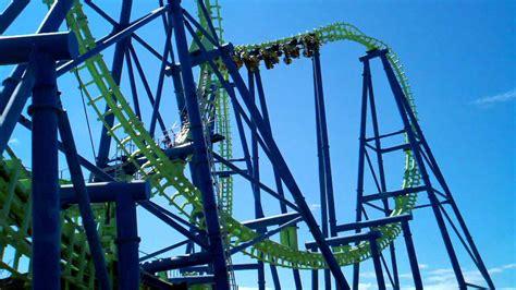aftershock  silverwood theme park athol idaho youtube