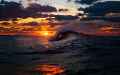 Wave Waves Ocean Desktop Pixelstalk