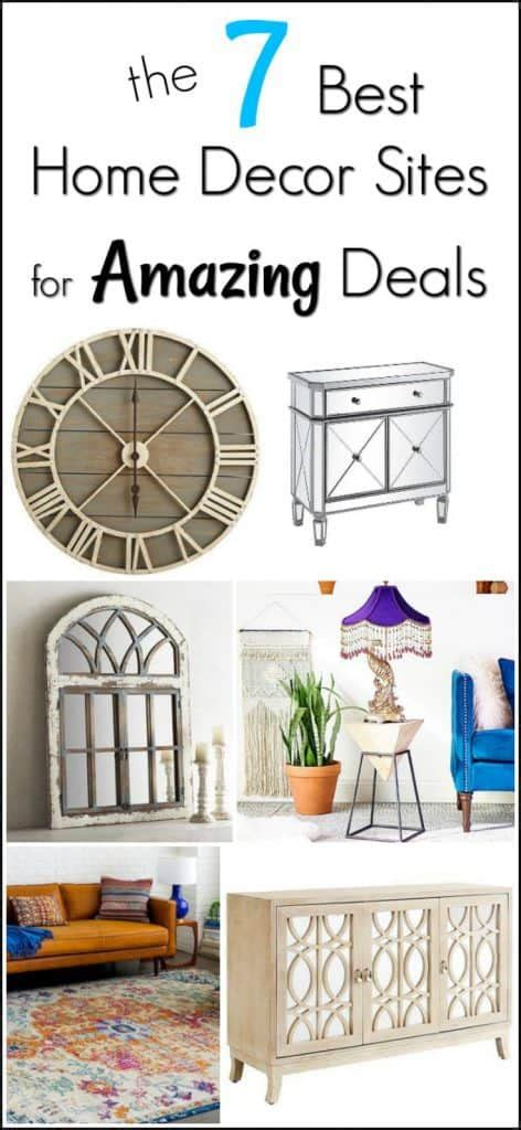 The 7 Best Home Decor Sites For Amazing Deals For A