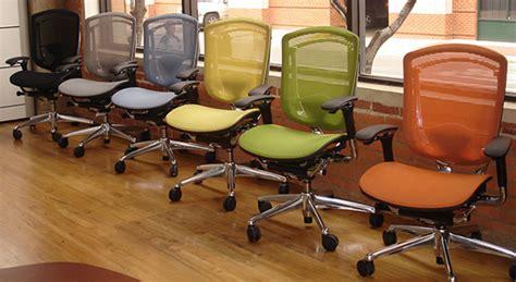 teknion mesh chair office furniture   rental