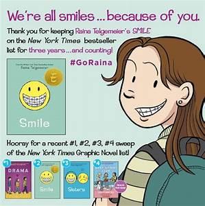 Children's Publishing Blogs - Raina Telgemeier blog posts