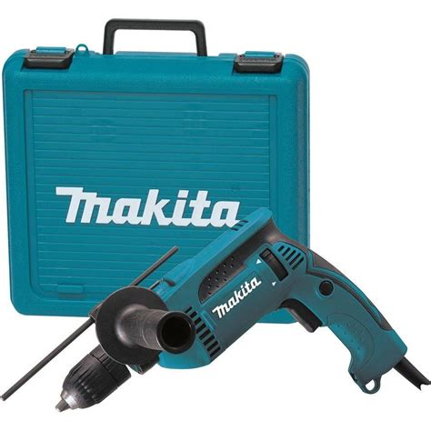 makita 6 5 8 in hammer drill with case hp1641k the home depot