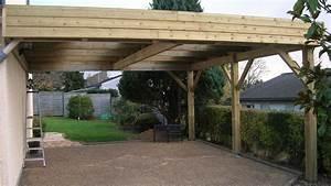 plan de carport en bois maison design wibliacom With plan maison en pente 19 abriboa abri camping car monopente vente en ligne d