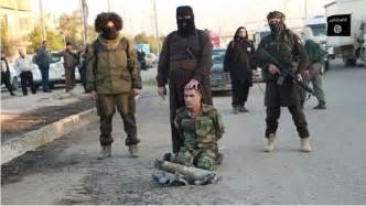 Isis Kurdish Soldier Beheading