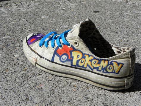 Pokemon Custom Shoes By Harpo-exe On Deviantart