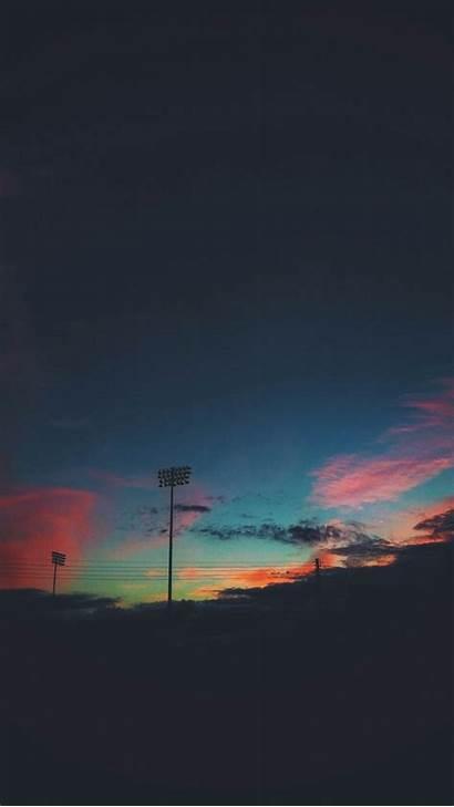 Random Phone Dark Sunset Aesthetic Celestial Wallpapers