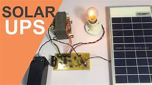 Solar Based Ups Project