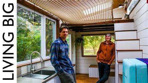 House Hammock by Diy Tiny House With Amazing Loft Hammock