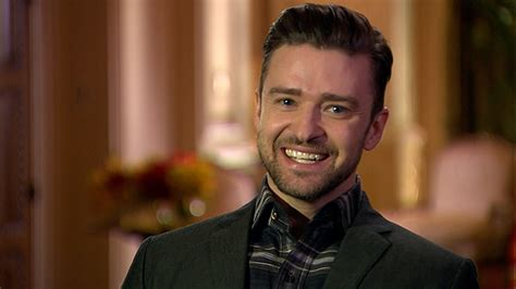 Justin Timberlake Just Can't Help But Drop Famous Names