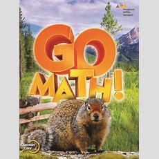 Go Math (2015), Kindergarten Edreportsorg