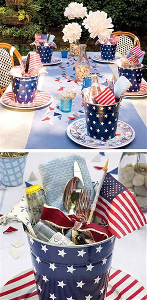 4th of july table centerpieces 45 decorations ideas bringing the 4th of july spirit into