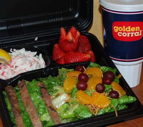 corral golden food take restaurants salad buffet bar fast concept selections few experience step