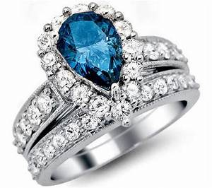 blue diamond engagement rings will be very attractive for With blue diamond wedding rings