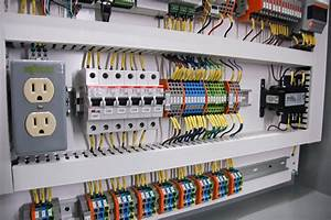 Neat Control Cabinets    Control Panel Wiring