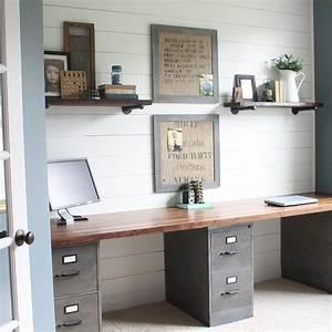 11 inspirasi ruang kerja ini bikin ide kreatifmu mudah With basement home office ideas 2