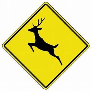 Deer Crossing - WC - Traffic: Warning - SIGNS