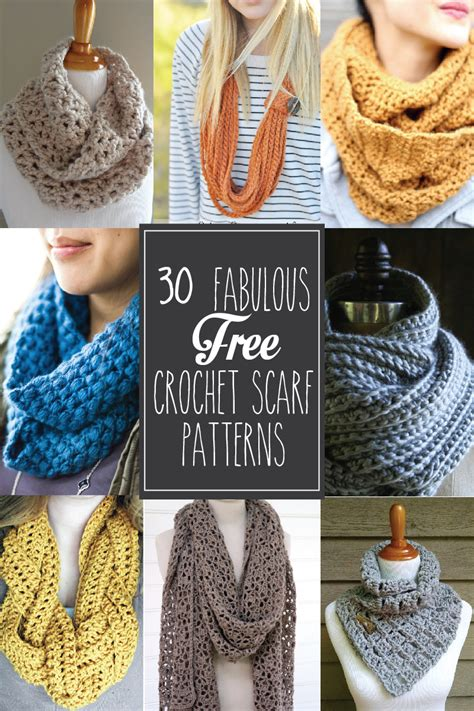 fabulous   crochet scarf patterns flamingo toes