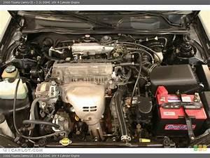 2 2l Dohc 16v 4 Cylinder Engine For The 2000 Toyota Camry
