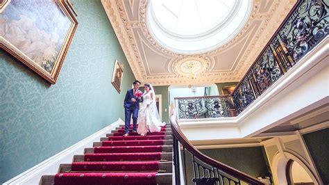 wedding venue surrey grand staircase addington palace