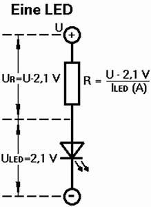 Led Streifen Strom Berechnen : elektronik f r anf nger alles ber led ~ Themetempest.com Abrechnung