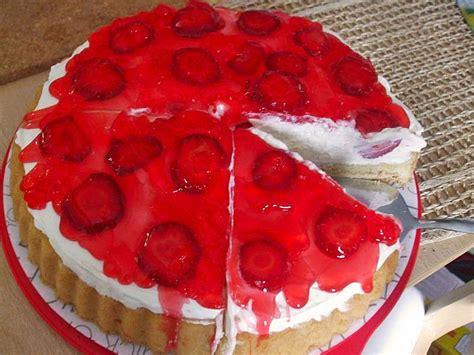 Erdbeerquarkkuchen Vom Blech (rezept Mit Bild) Von