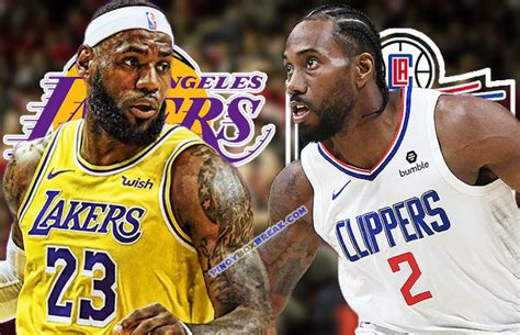 lakers  clippers october   nba