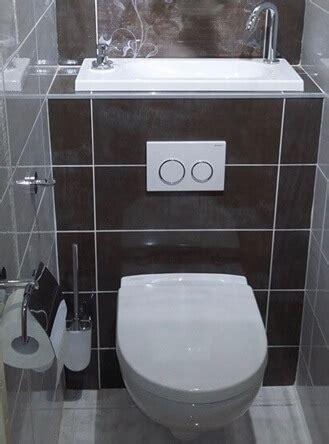 Wc Lave Intégré Modele Carrelage Toilette