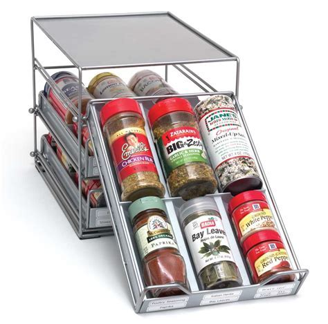 Spice Drawer Organizer in Spice Racks